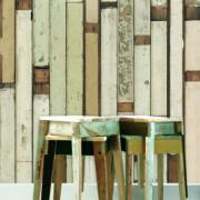 Scrapwood wallpaper by Piet Hein Eek 1&2