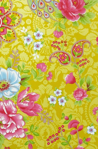 PIP Wallpaper traditional 2 Flowers in the Mix 313050