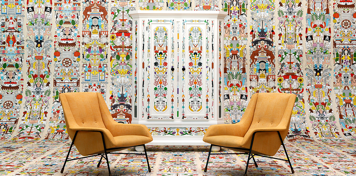 Archives Wallpaper, Studio Job for NLXL, Arte