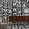 Archives Wallpaper, Studio Job for NLXL, JOB-06 Withered flowers black