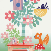 Wallpower Tout Petit, Eijffinger Forest Friends 354167