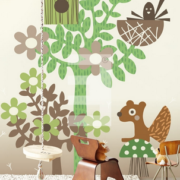 Wallpower Tout Petit, Eijffinger Forest Friends 354166