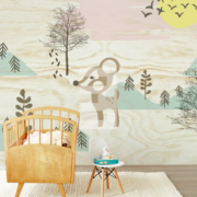 Wallpower Tout Petit, Eijffinger Bambi in the woods 354157