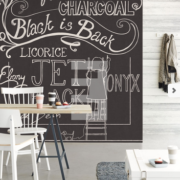 Black & Light Eijffinger Wallpower Chalky 356217
