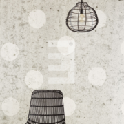 Black & Light Eijffinger Wallpower Concrete Dots 356214