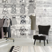 Black & Light Eijffinger Wallpower What to wear 356212-Black & Light Eijffinger Wallpower Woodlands 356211