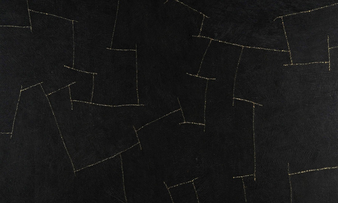 Bark Cloth, Arte, Black gold Bark 3004