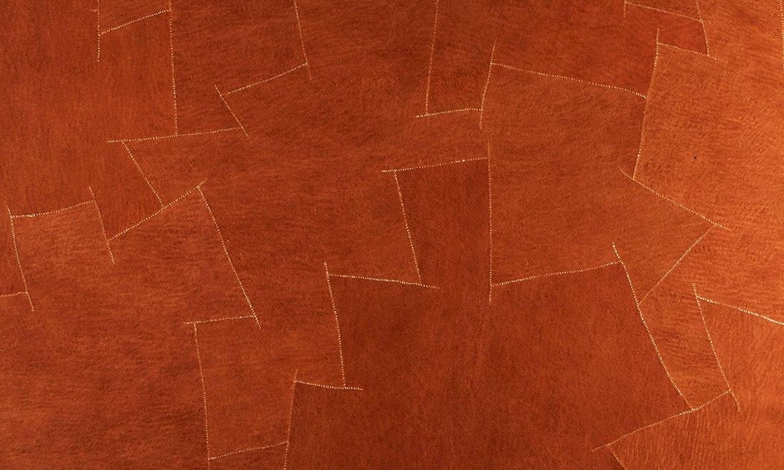 Bark Cloth, Arte, Orange Bark 3000