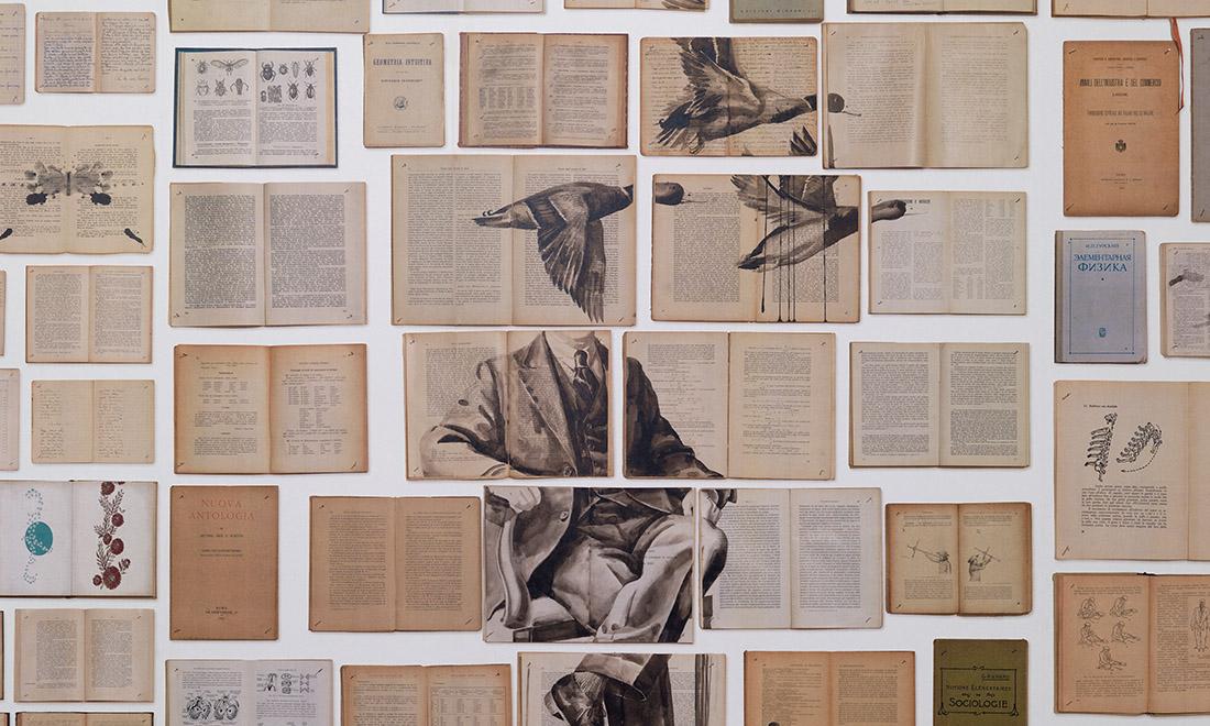 Biblioteca Wallpaper by Ekaterina Panikanova, Arte