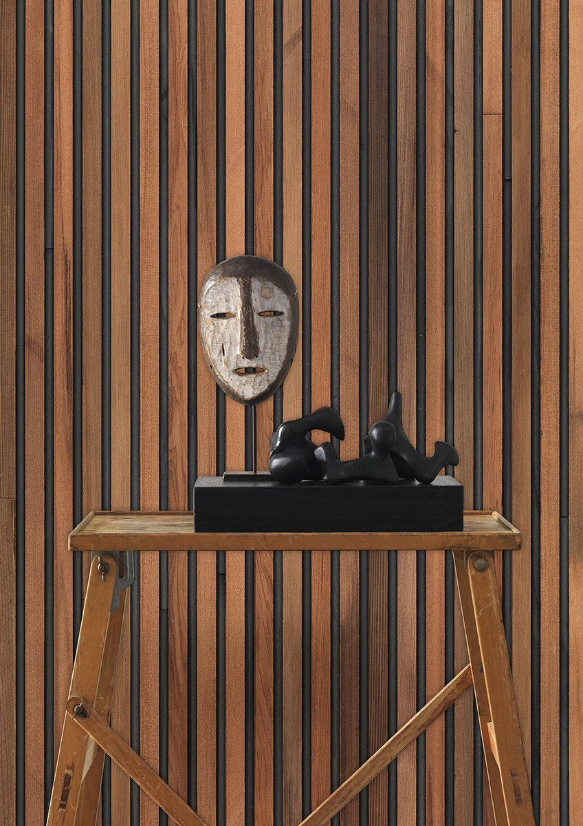 Timber Strips Wallpaper, by Piet Hein Eek for NLXL, Arte