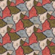 M.C. Escher, Arte Fish MC23103